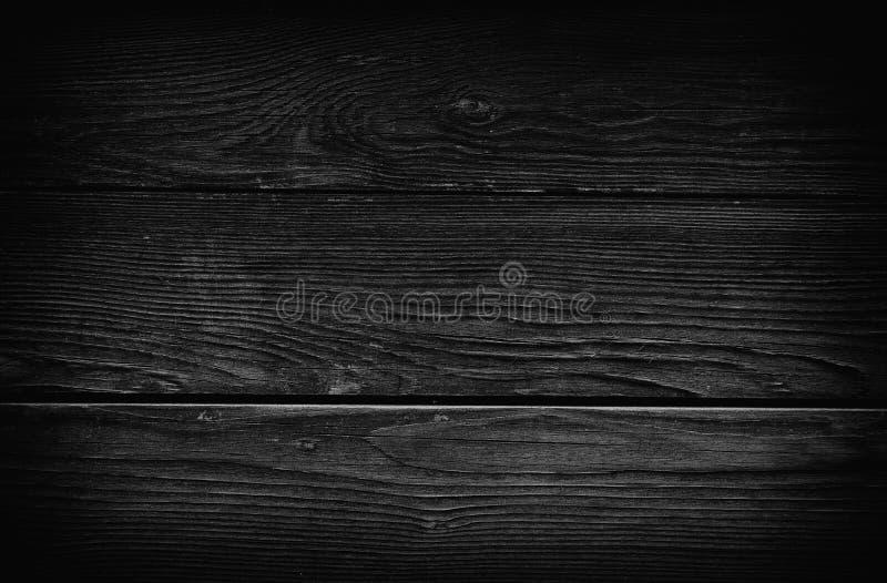 Fondo di legno nero d'annata immagine stock libera da diritti