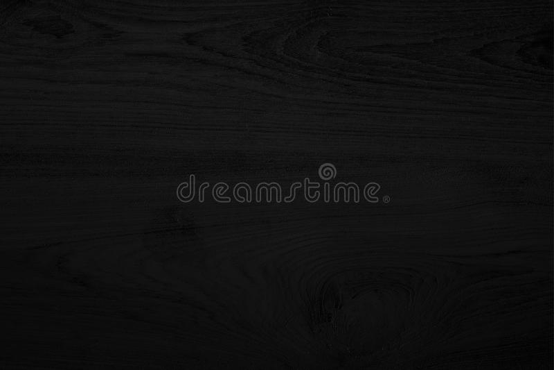 Fondo di legno nero del nero di struttura Spazio in bianco per progettazione fotografia stock