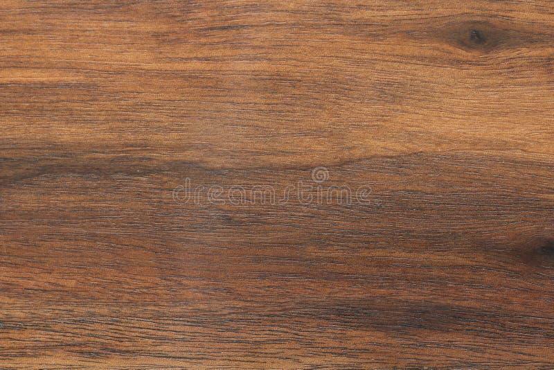 Fondo di legno o struttura marrone scura Struttura di vecchio uso del legno a fotografia stock