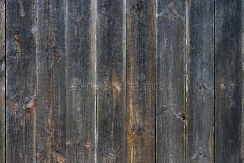 Fondo di legno scuro di struttura di lerciume, plance di legno vecchi comitati del fondo immagini stock libere da diritti