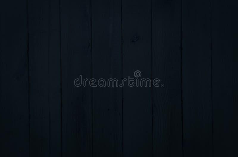 Fondo di legno scuro di struttura, plance di legno nere Legno lavato vecchio lerciume, vista superiore dipinta del modello di leg immagini stock