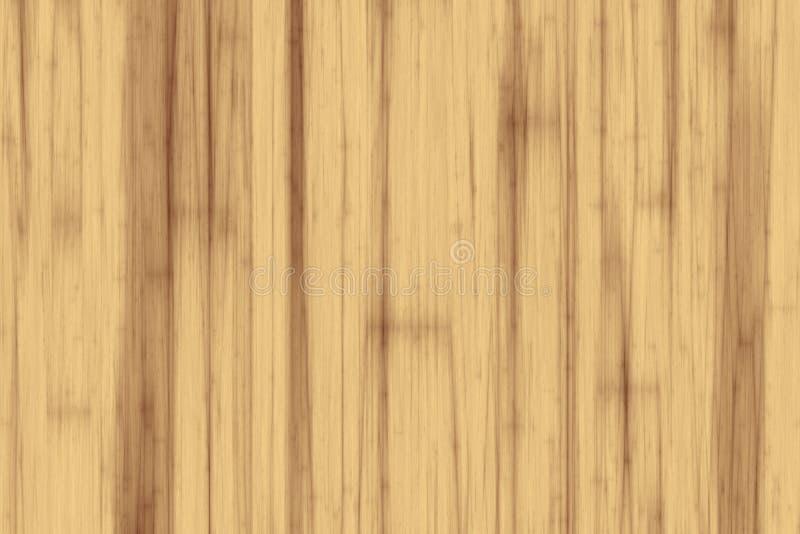 Fondo di legno di struttura del pioppo leggero illustrazione vettoriale
