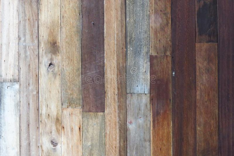 Fondo di legno di struttura, plance di legno Superficie di legno scura del fondo di struttura con il vecchio modello naturale Str immagini stock