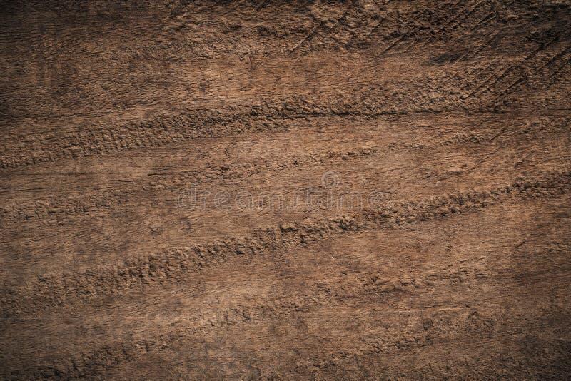 Fondo di legno strutturato scuro di vecchio lerciume, la superficie del ol fotografia stock