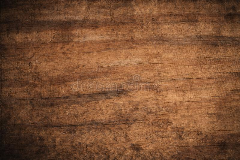 Fondo di legno strutturato scuro di vecchio lerciume, la superficie di vecchia struttura di legno marrone, incorniciatura di legn immagini stock