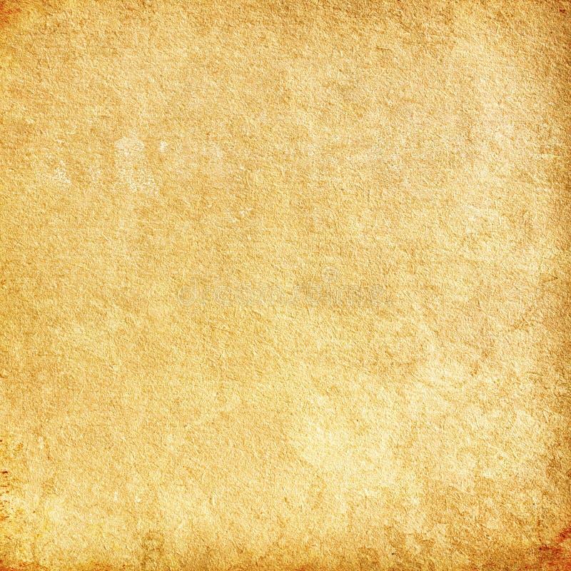 Fondo di lerciume di Brown, vecchia struttura di carta, arancia, ruvida, macchia royalty illustrazione gratis