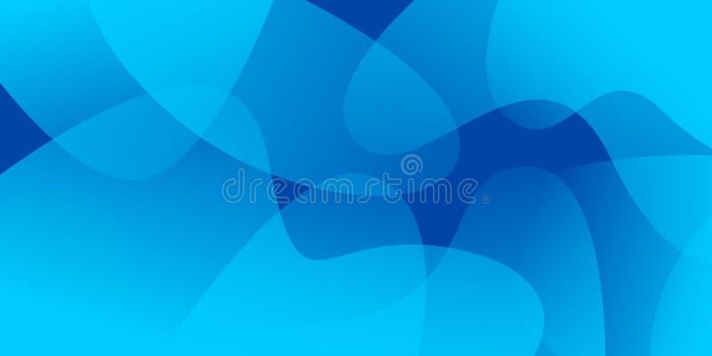 Fondo di lusso del modello con i colori blu royalty illustrazione gratis