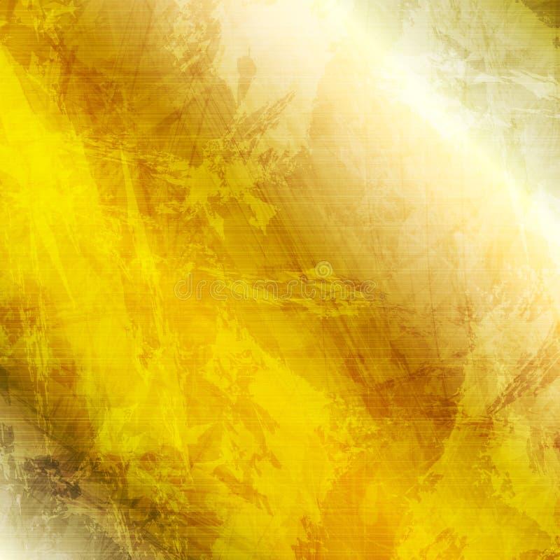 Fondo di lusso di struttura di lerciume di scintillio dell'oro illustrazione di stock
