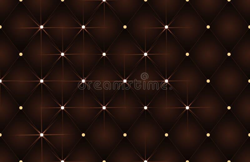 Fondo di lusso dorato di VIP, illustrazione di progettazione di vettore royalty illustrazione gratis