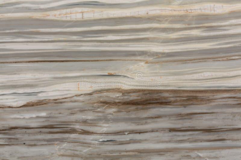 Fondo di marmo marrone chiaro e beige della roccia Macro struttura della foto della pietra naturale fotografia stock