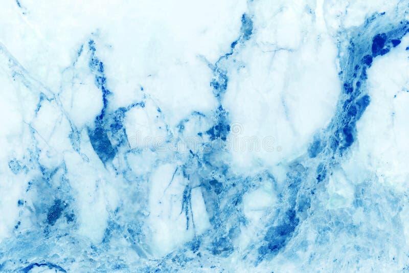 Fondo di marmo pastello blu di struttura con l'alta risoluzione della struttura del dettaglio, senza cuciture lussuoso astratto d fotografia stock libera da diritti