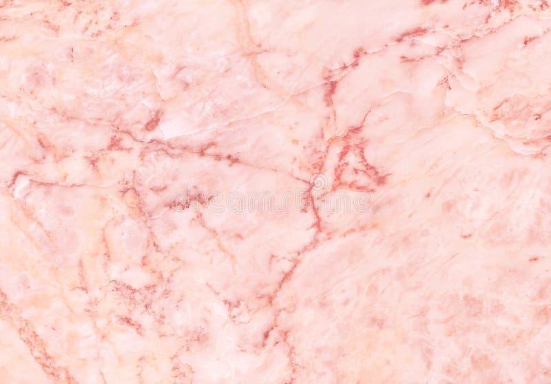 Fondo di marmo di struttura dell'oro di Rosa nel modello naturale con l'alta risoluzione per la decorazione interna, pietra di lu immagine stock libera da diritti