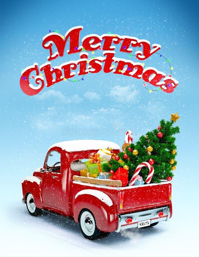 Fondo di Natale illustrazione vettoriale