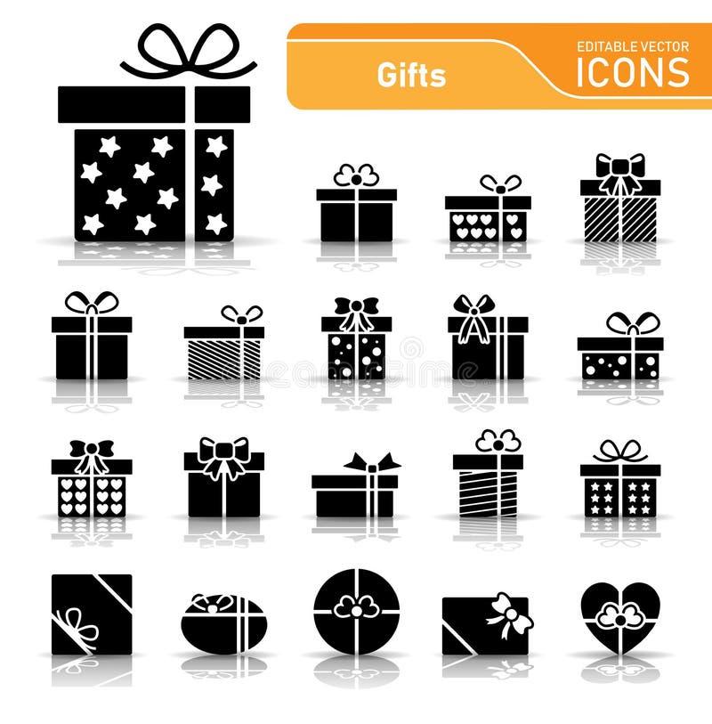 Fondo di Natale con gli elementi dell'ornamento illustrazione di stock