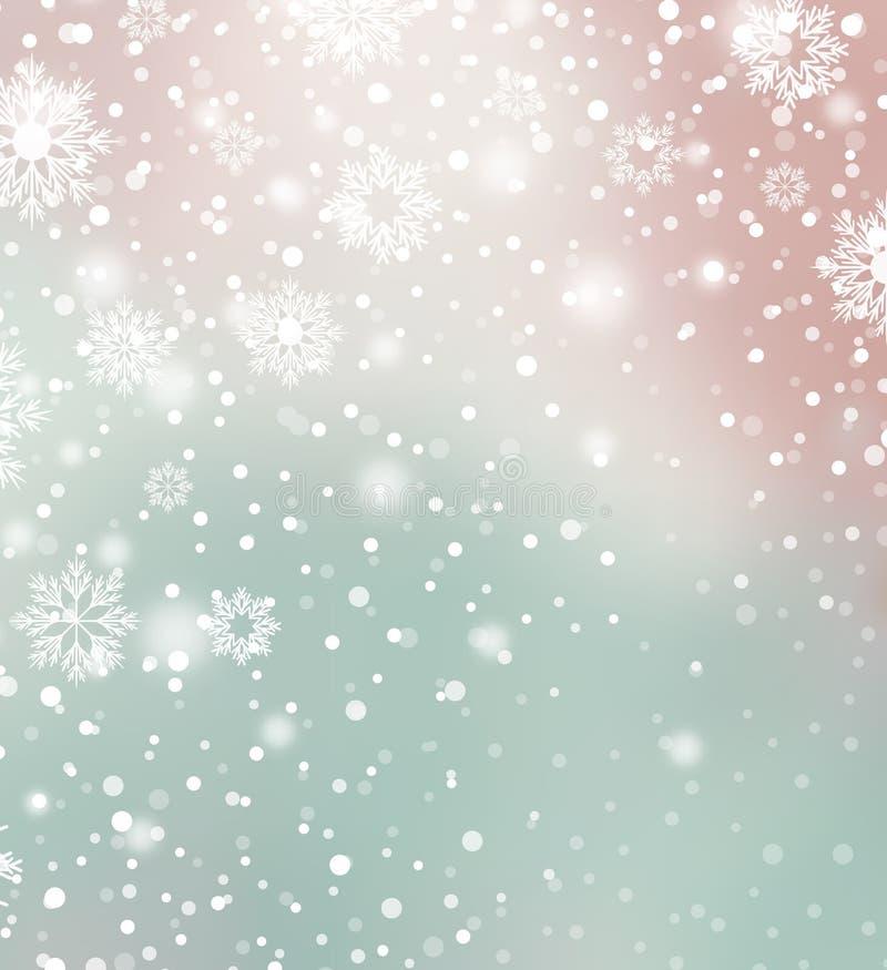 Fondo di Natale di vettore illustrazione di stock