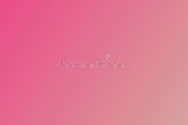 Fondo di pendenza di colore con i colori luminosi Progettazione Defocus vago astratto multicolore del fondo di pendenza illustrazione di stock
