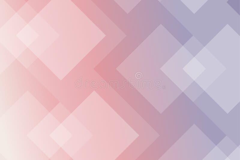 Fondo di pendenza del rombo Reticolo geometrico astratto illustrazione vettoriale