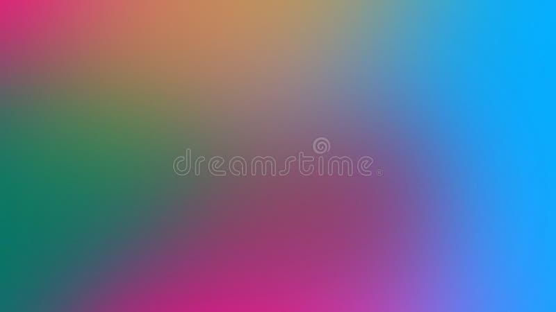 Fondo di pendenza vago estratto nei colori luminosi Illustrazione regolare variopinta royalty illustrazione gratis