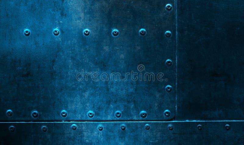 Fondo di piastra metallica fotografie stock libere da diritti