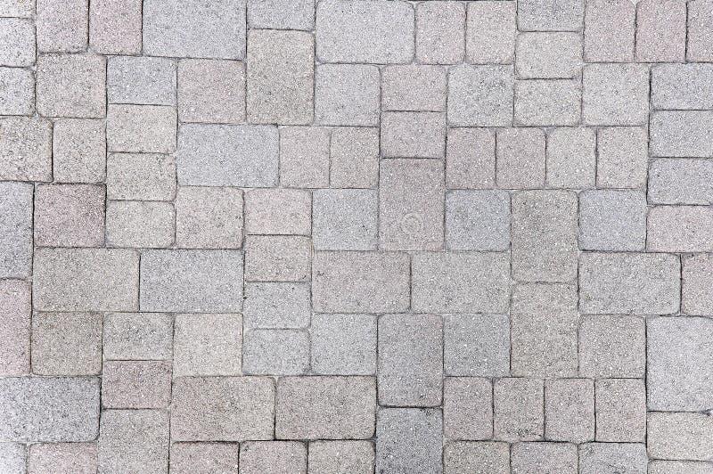 Fondo di pietra variopinto della pavimentazione fotografia stock