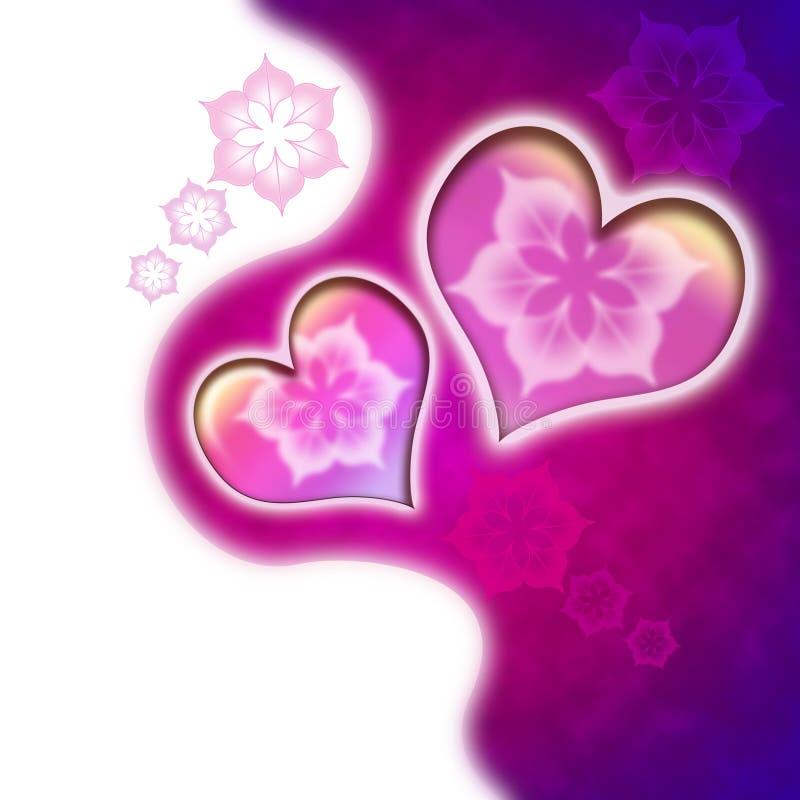 Fondo di San Valentino immagine stock
