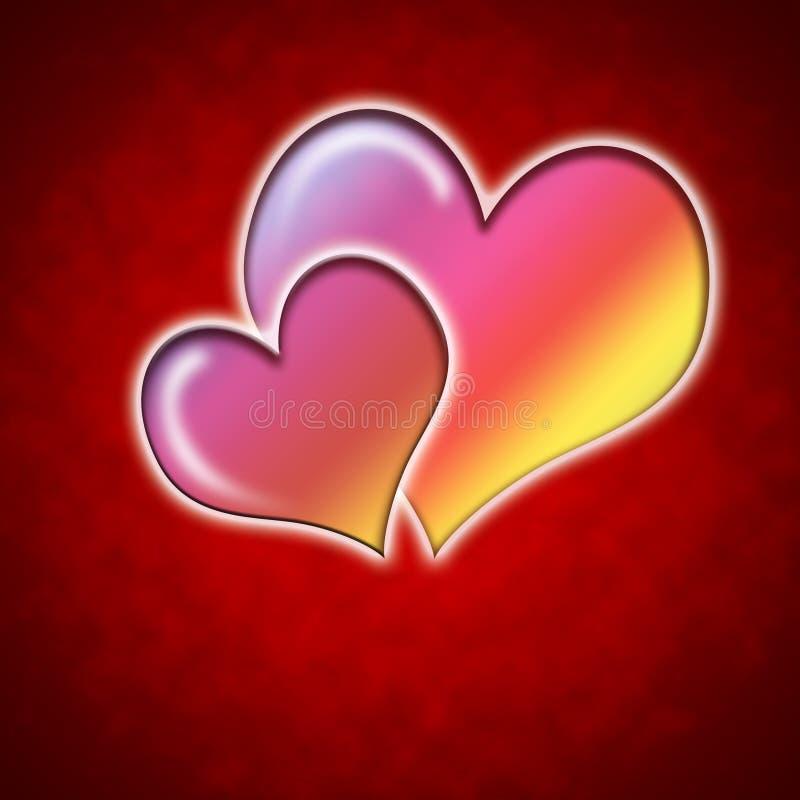 Fondo di San Valentino immagini stock