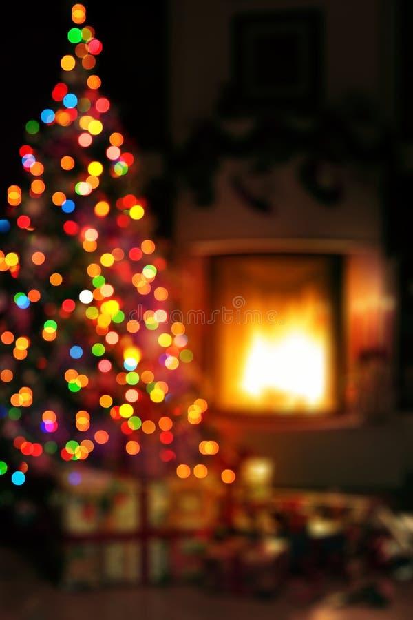 Fondo di scena di Art Christmas fotografie stock libere da diritti