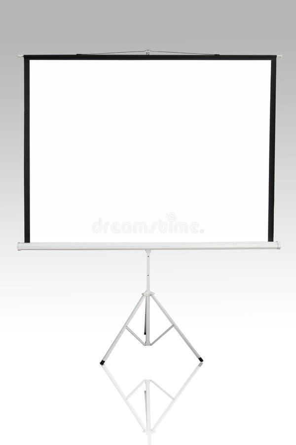 Fondo di schermo per mostrare proiettore immagini stock libere da diritti