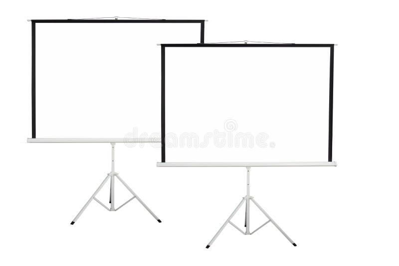 Fondo di schermo per mostrare proiettore fotografie stock