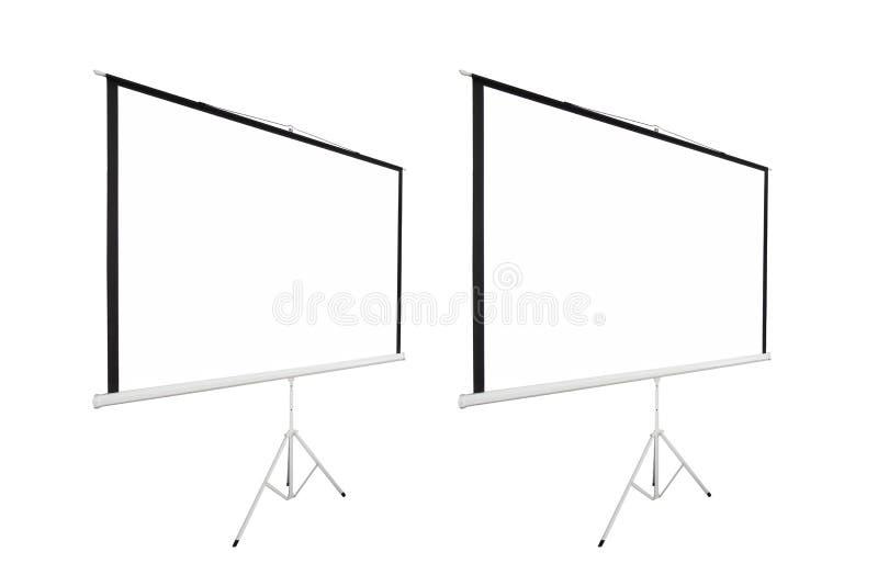 Fondo di schermo per mostrare proiettore immagine stock libera da diritti