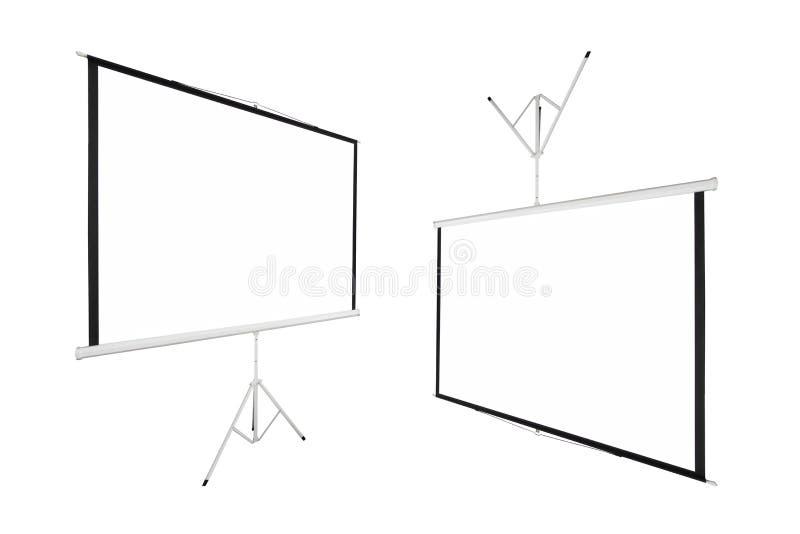 Fondo di schermo per mostrare proiettore fotografia stock libera da diritti