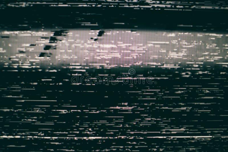Fondo di schermo statico di VHS fotografie stock libere da diritti