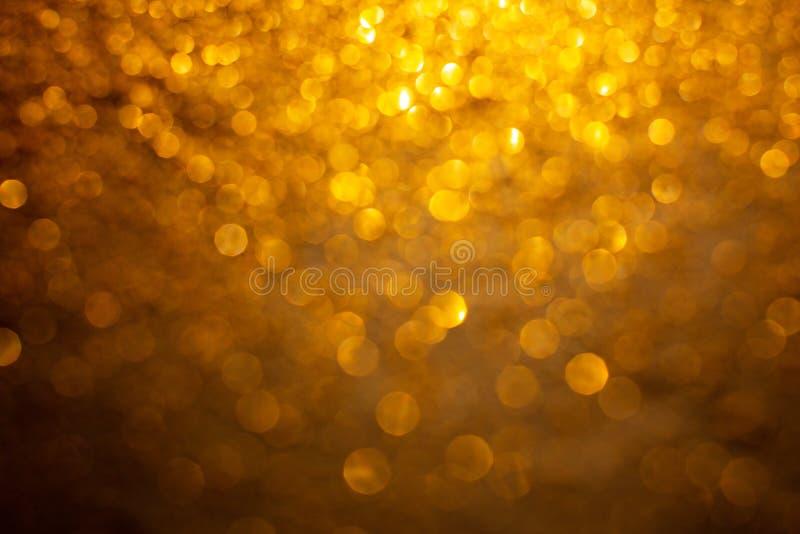Fondo di scintillio dell'oro fotografia stock libera da diritti