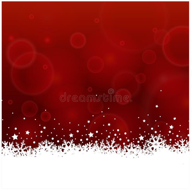 Fondo di scintillio di Natale illustrazione vettoriale