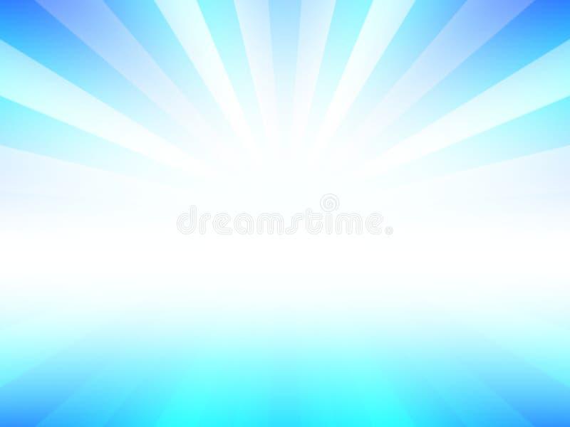 Fondo di scoppio di Anstract con colore leggero blu fotografia stock