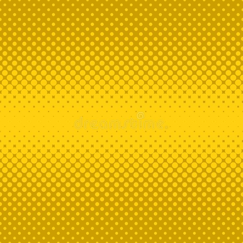 Fondo di semitono del modello di punto - progettazione grafica di vettore dai cerchi nelle dimensioni varianti illustrazione vettoriale