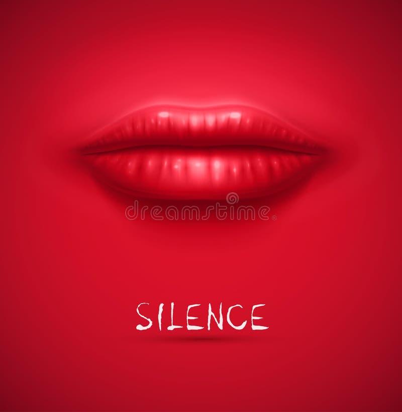 Fondo di silenzio royalty illustrazione gratis