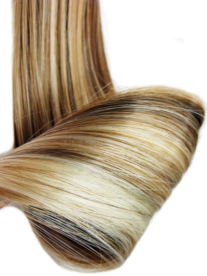 Fondo di struttura dei capelli di punto culminante fotografie stock