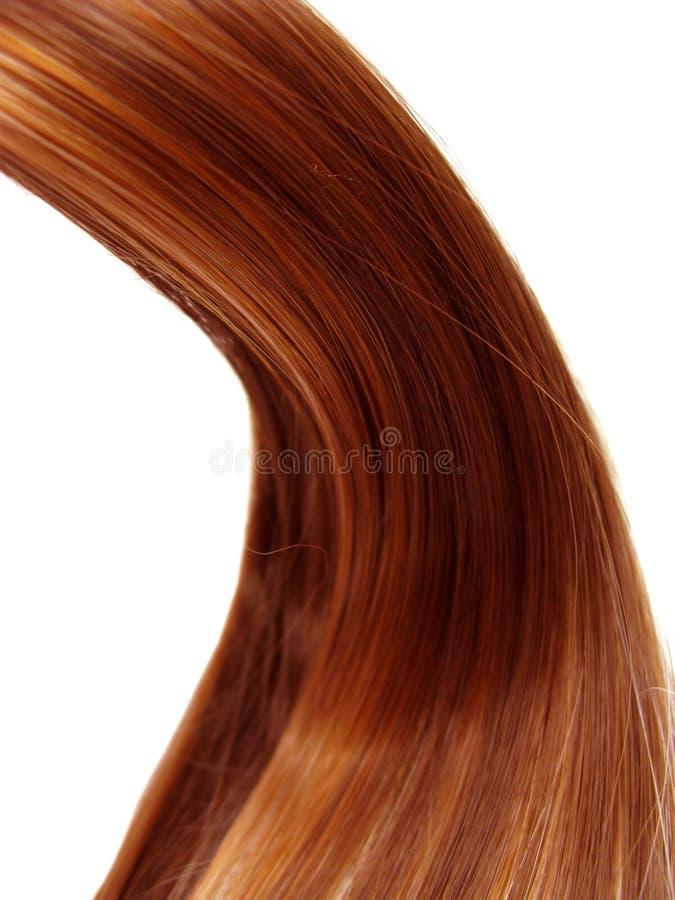 Fondo di struttura dei capelli scuri fotografia stock