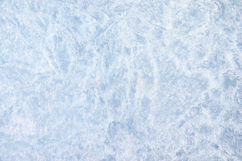 Fondo di struttura del ghiaccio fotografia stock libera da diritti