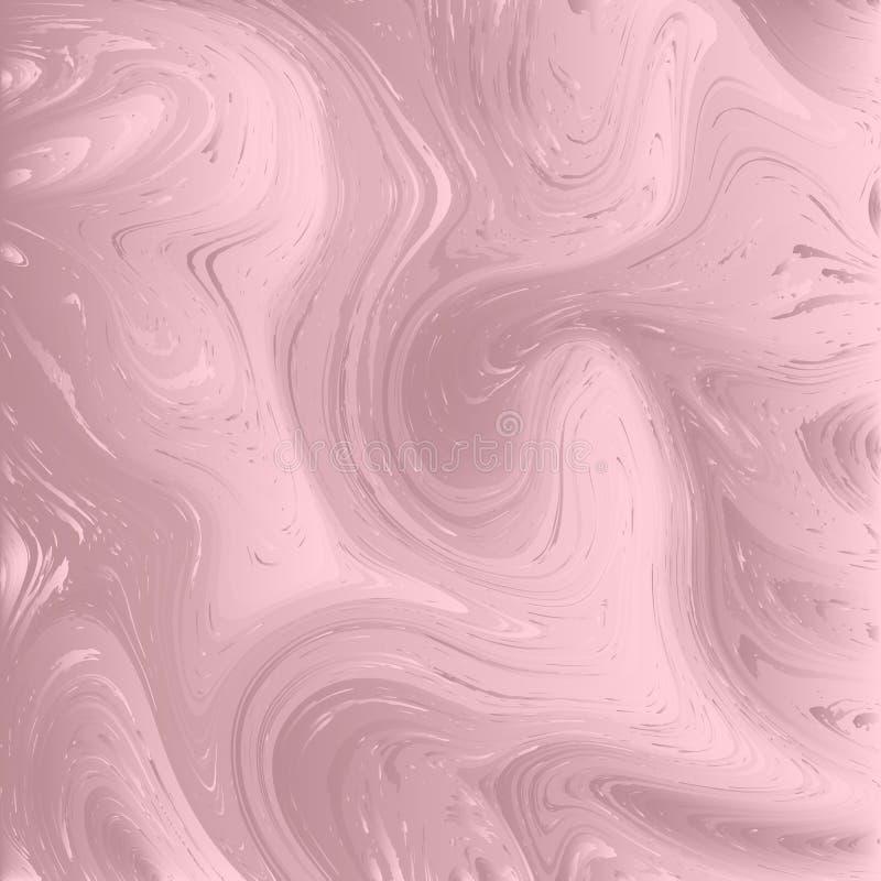Fondo di struttura del marmo di Rosa royalty illustrazione gratis