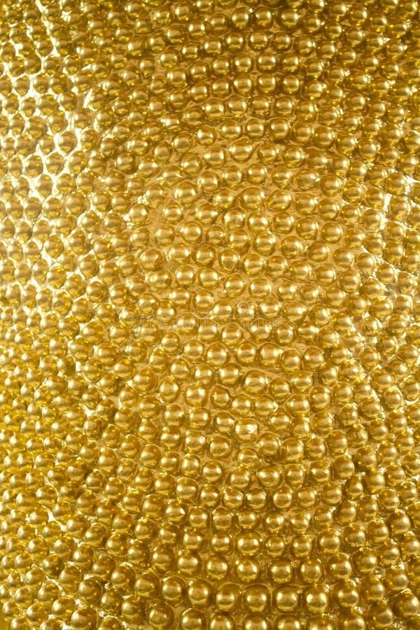 Fondo di struttura dell'oro immagini stock