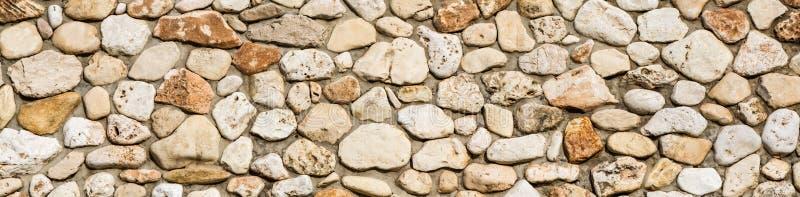 Fondo di struttura della parete di pietra, panorama della muratura fotografie stock libere da diritti