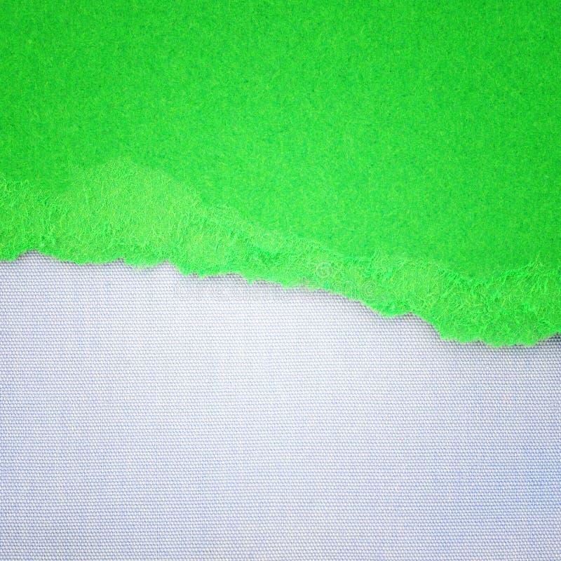 Fondo di struttura della tela e carta lacerata immagini stock