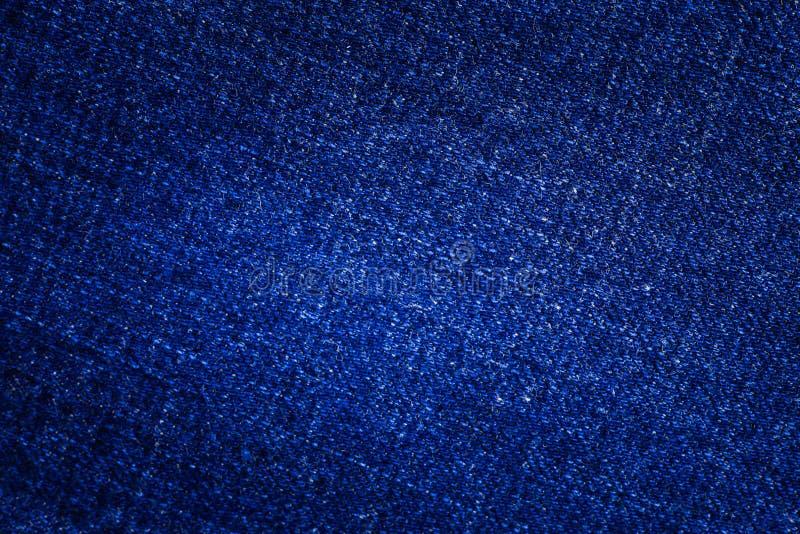 Fondo di struttura delle blue jeans fotografia stock