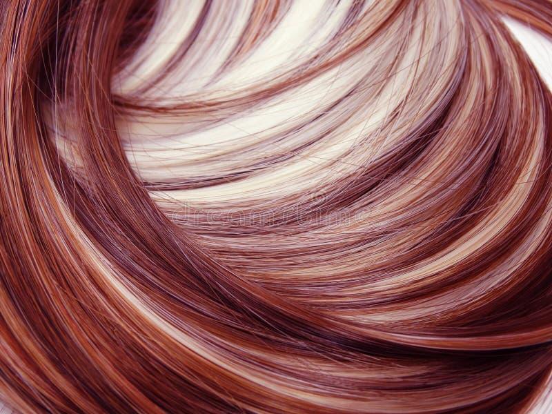 Fondo di struttura di bellezza dei capelli di punto culminante immagine stock libera da diritti
