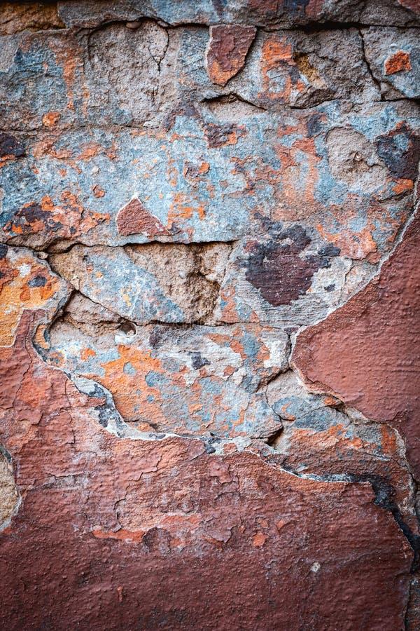Fondo di struttura variopinta del muro di mattoni muratura fotografia stock libera da diritti