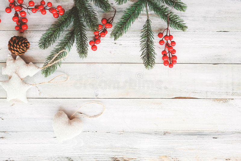 Fondo di tema di Natale fotografia stock libera da diritti