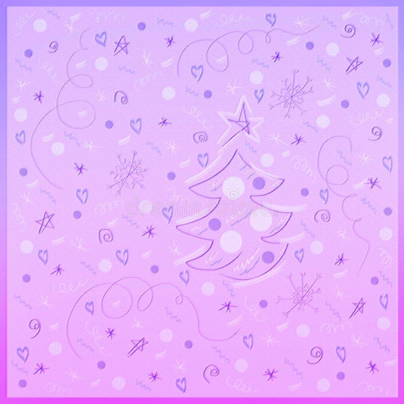 Fondo di vacanze invernali royalty illustrazione gratis