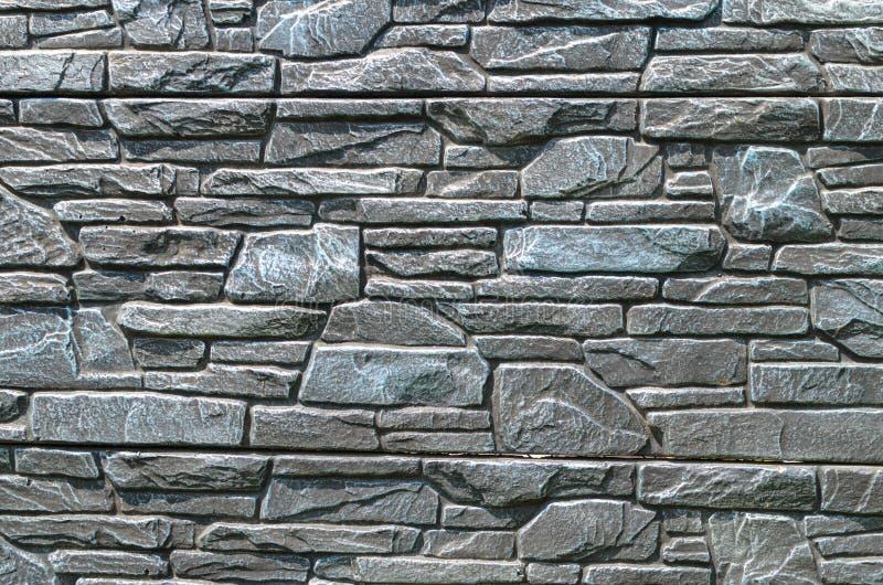 Fondo di vecchio muro di mattoni blu immagini stock libere da diritti